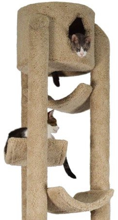 Molly and Friends Pinnacle Cat Tree with Sisal