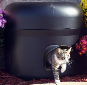 Kitty Tube Generation 2 Outdoor Insulated Cat House