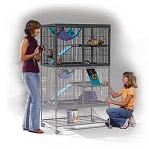Midwest Homes Ferret Nation Cage