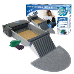SmartScoop Self-Scooping Litter Box