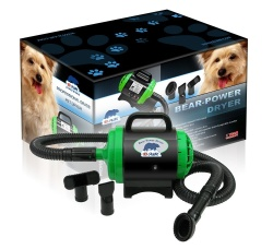 B-AIR BPD-1 Bear Power Dryer 2HP High Velocity Pet Grooming Dog Dryer