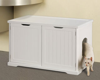Merry Cat Litter Box Enclosure